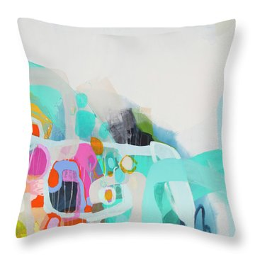 Fingers Crossed Throw Pillow