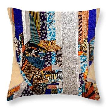 Finn Star Wars Awakens Afrofuturist  Throw Pillow