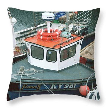 Fiona S Throw Pillow