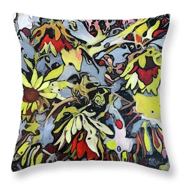 Fiori Throw Pillow