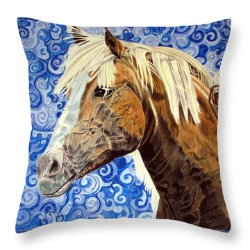 Fiosa Throw Pillow by Melita Safran