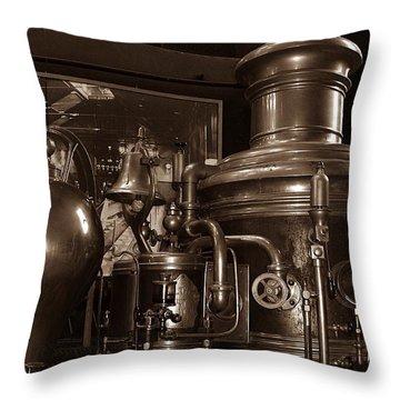 Fire Engine 1 Throw Pillow