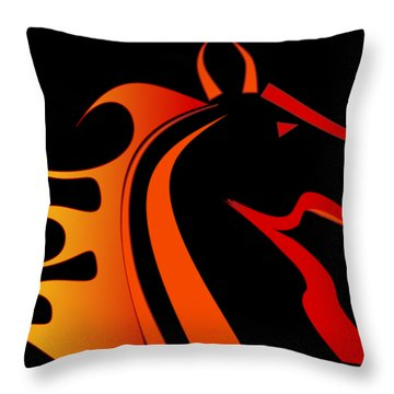 Pony Throw Pillows