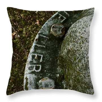 Fire Hydrant #10 Throw Pillow