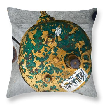 Fire Hydrant #2 Throw Pillow