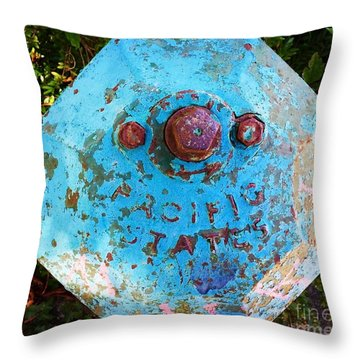 Fire Hydrant #3 Throw Pillow
