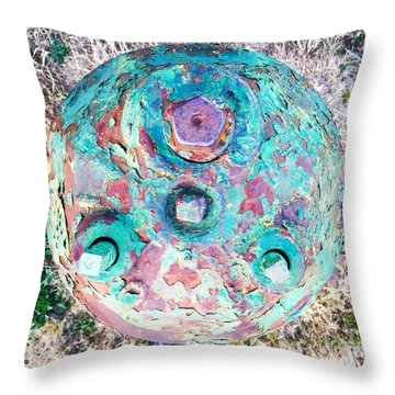 Fire Hydrant #5 Throw Pillow