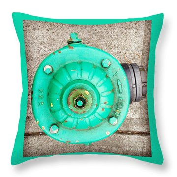 Fire Hydrant #6 Throw Pillow