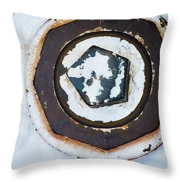 Fire Hydrant 9 Throw Pillow