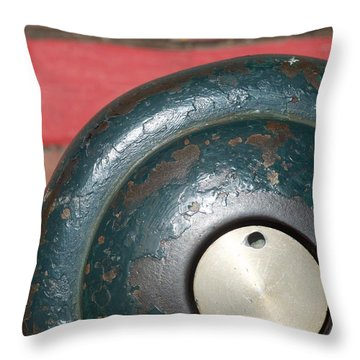 Fire Hydrant Throw Pillow by Stuart Hicks