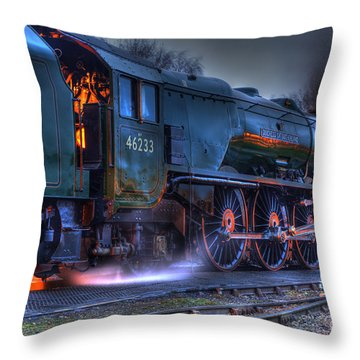 Fire In Her Belly Throw Pillow