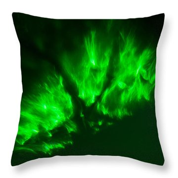 Throw Pillow featuring the photograph Fire In The Sky by Greg Collins