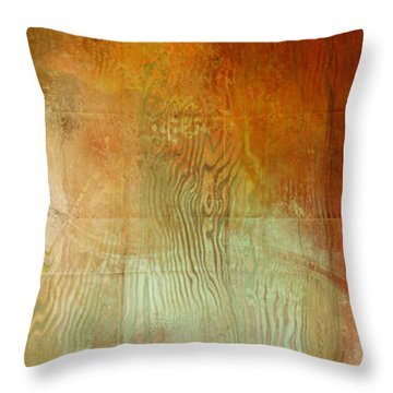 Fire On The Mountain - Abstract Art Throw Pillow