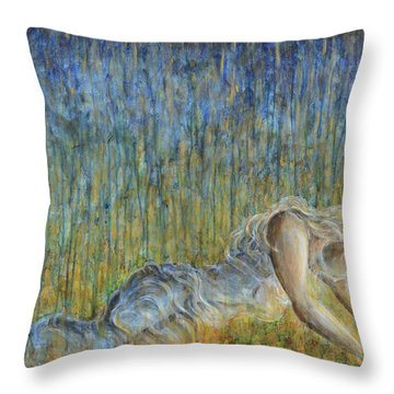 Fire To The Rain Throw Pillow