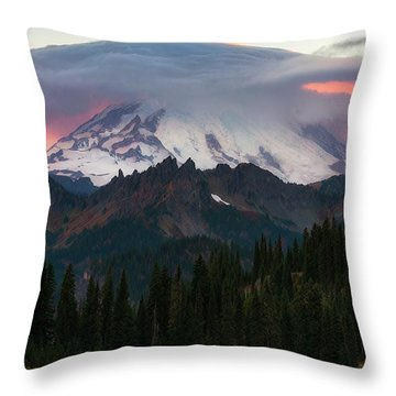 Fire Under His Hat Throw Pillow