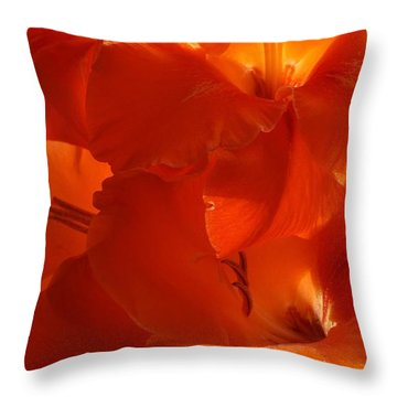 Fire Whispers Throw Pillow