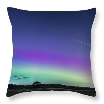 Fireball One Over The Farm Throw Pillow