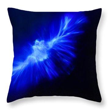 Throw Pillow featuring the photograph Firebird by Greg Collins