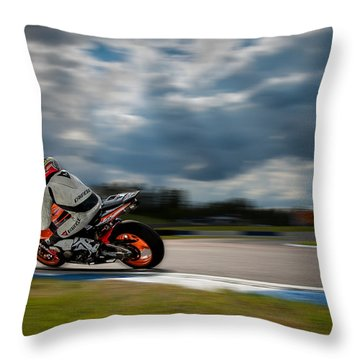 Fireblade Throw Pillow