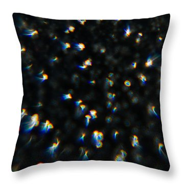 Throw Pillow featuring the photograph Firebombing by Greg Collins