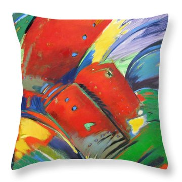 Firecracker Throw Pillow