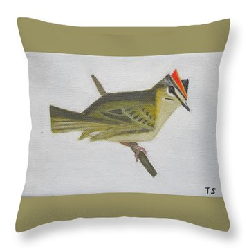 Firecrest Throw Pillow
