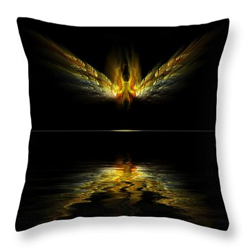 Firefly Throw Pillow by Gordon Engebretson