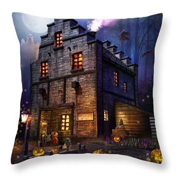 Firefly Inn Halloween Edition Throw Pillow