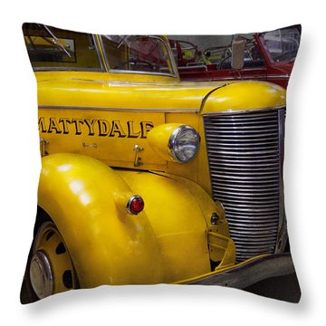 Fireman - Mattydale  Throw Pillow by Mike Savad