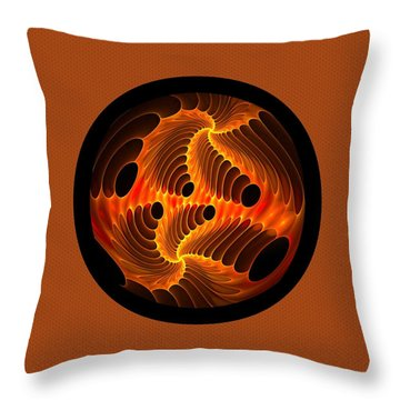 Fires Within Memorial Throw Pillow