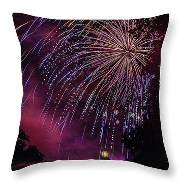 Fireworks 1 Throw Pillow