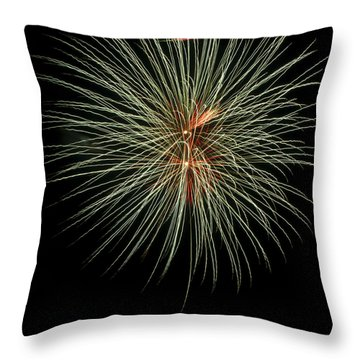 Fireworks 3 Throw Pillow