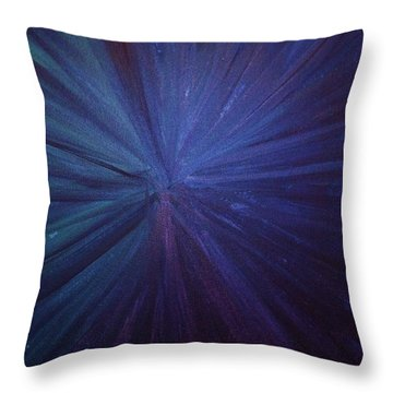 Fireworks I Throw Pillow by Anna Villarreal Garbis