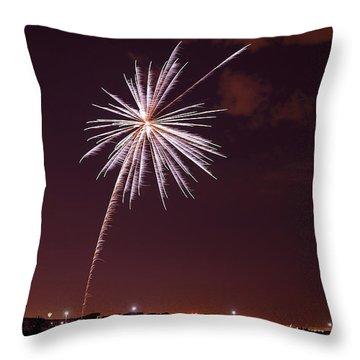 Fireworks July4 2013 Throw Pillow