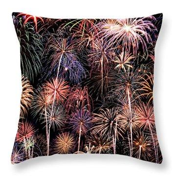 Fireworks Spectacular II Throw Pillow