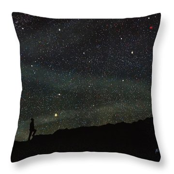 Firmamento Throw Pillow