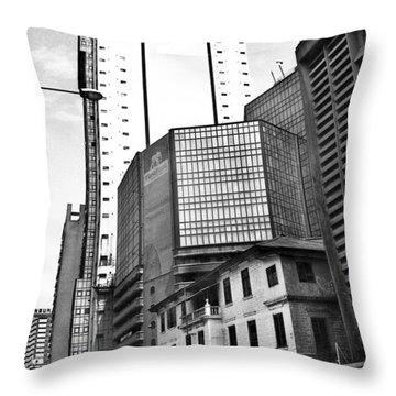 First Bank Marina Throw Pillow