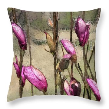 First Blush Throw Pillow