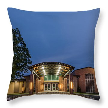 First Christian Church Tyler Texas Throw Pillow