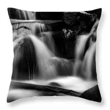 first crystals on the Bodefall, Harz Throw Pillow