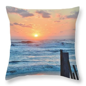 First Day Of Spring  Throw Pillow