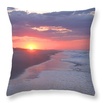 First Daylight Throw Pillow