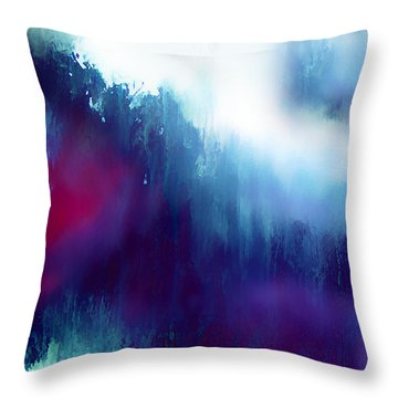 First Days Of Grief Throw Pillow by Menega Sabidussi