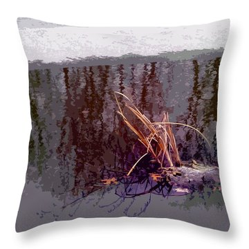 First Freeze Throw Pillow