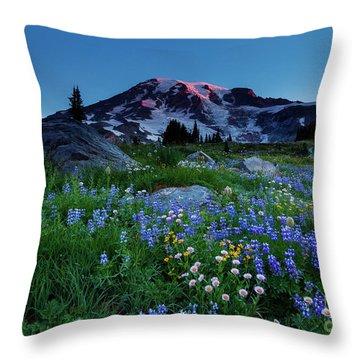 First Glow Throw Pillow