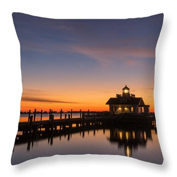 Throw Pillow featuring the photograph First Light by Gregg Southard