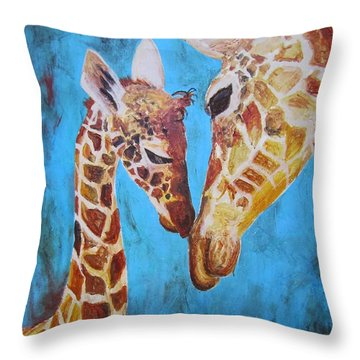 First Love Throw Pillow
