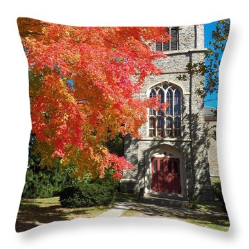 First Parish Unitarian Church Throw Pillow