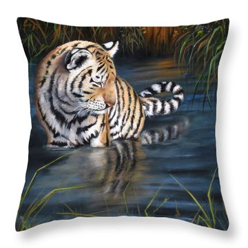 First Reflection Throw Pillow
