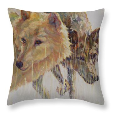 First Responders Throw Pillow